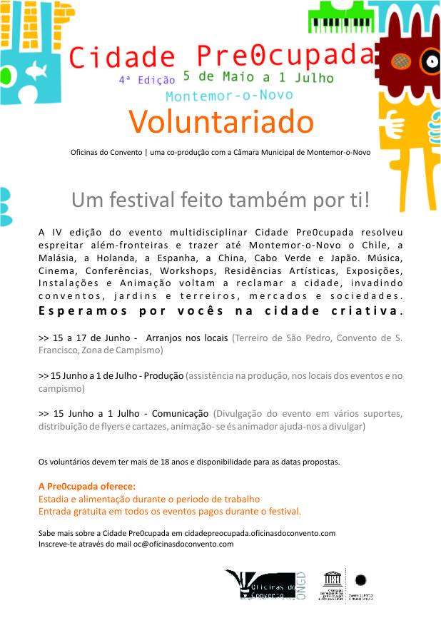 Chamada de Voluntários