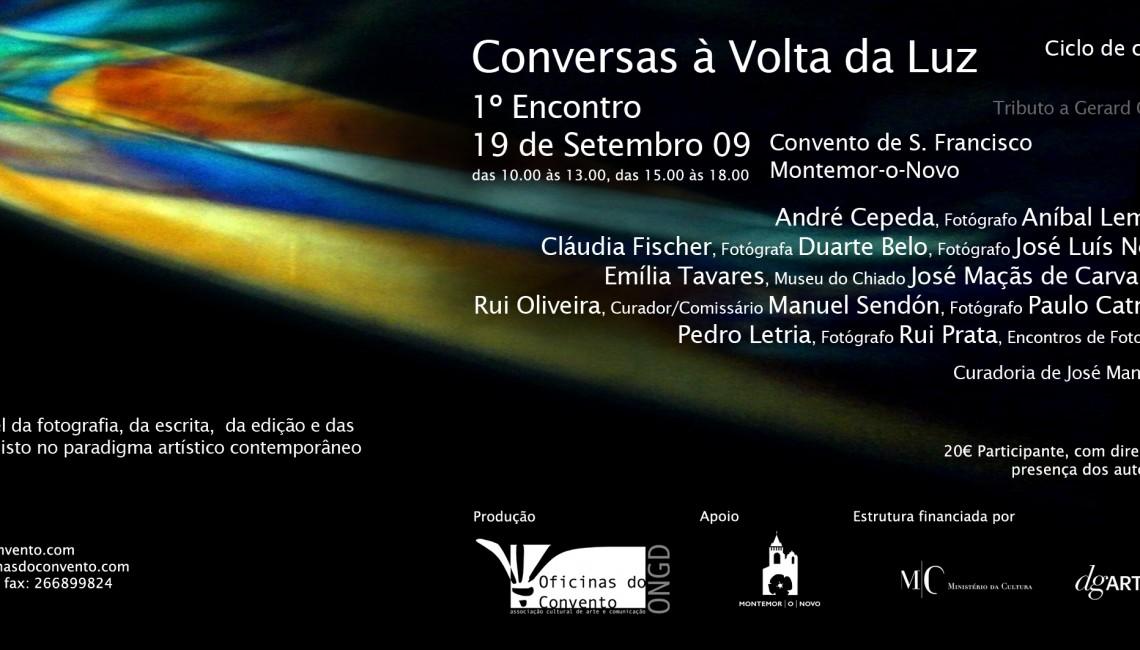 ConversasVolta da Luz Flyer